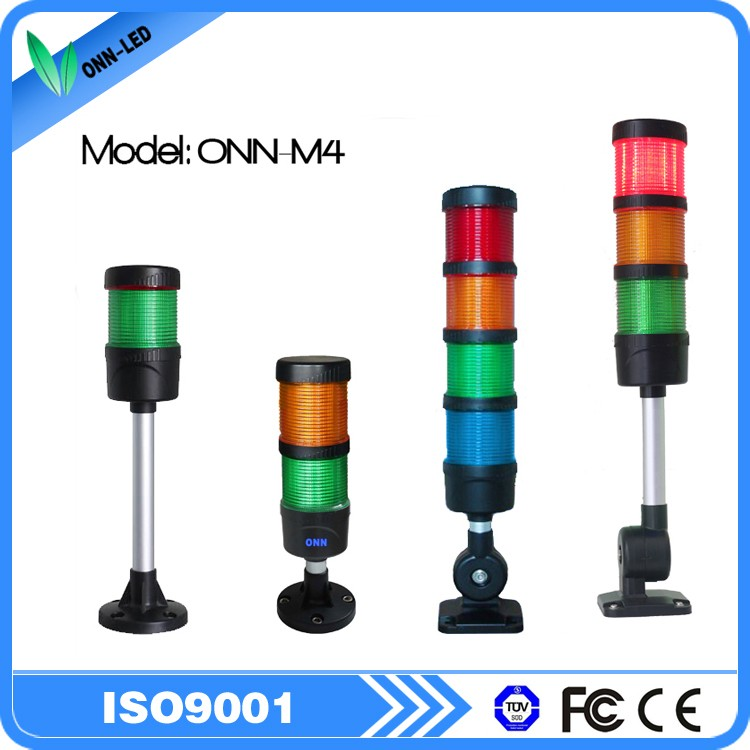 12V 5 Tiers 5 colors led tower light for machine indicator