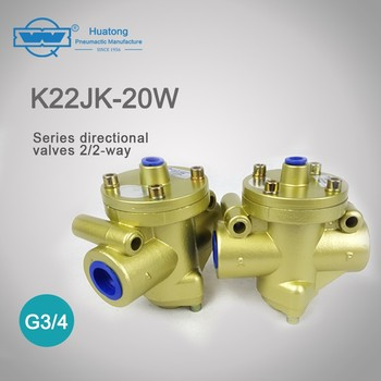 K22JD-20W dust environment two-way poppet valve