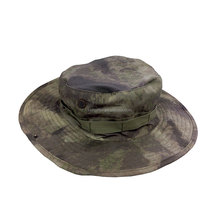 Rip-stop round boonie casual military camouflage hat