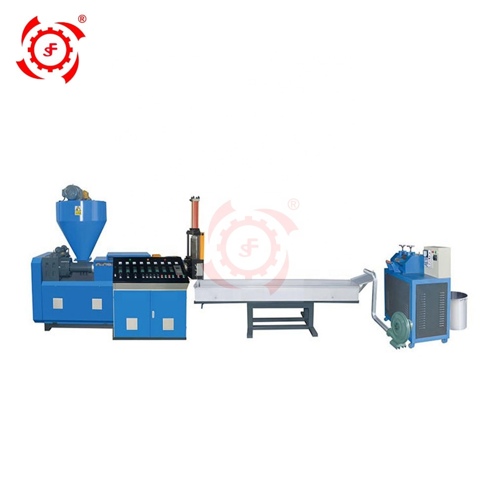 Single Two Stage Waste HDPE LDPE LLDPE Film Fully Automatic Waste Plastic Pelletizing Granulator Recycling Machine Price