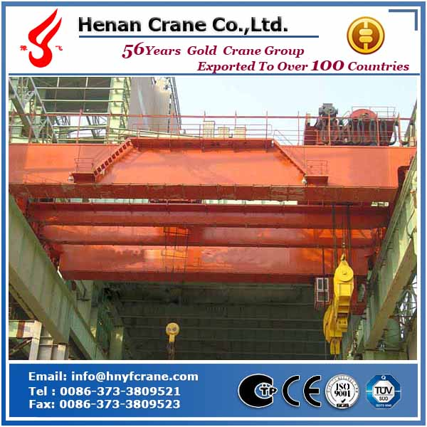 QD type 125/32~250/50ton hanger bridge crane heavy duty crane