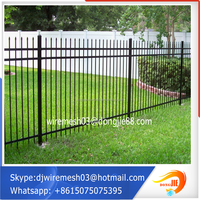 Fentech Brand Strong UV proof Innovative Design Plastic Vinyl/PVC Garden Fence