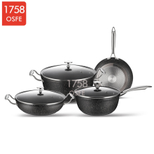China supplier 2014 Special design excellent houseware ollas cookware sets