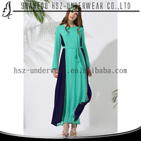 Zakiyyah-MD10008 Instock Hot Sale Middle East Design Kaftan Muslim Women Formal Abaya Dress