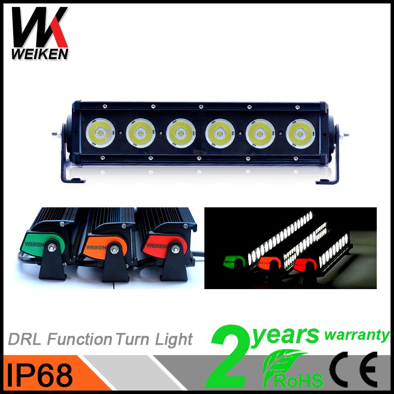 Auto parts accessories 60w offroad led light bar bluetooth control led light bar car wholesale from Hangzhou