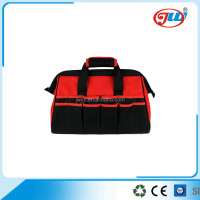 Zipper briefcase computer tool bag with single strap