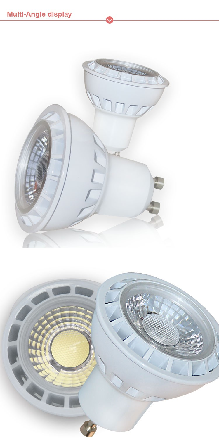 High quality led spotlight 3w 5w 7w 9w,gu10 mr16 led spots,high lumen cob led spotlights 3w