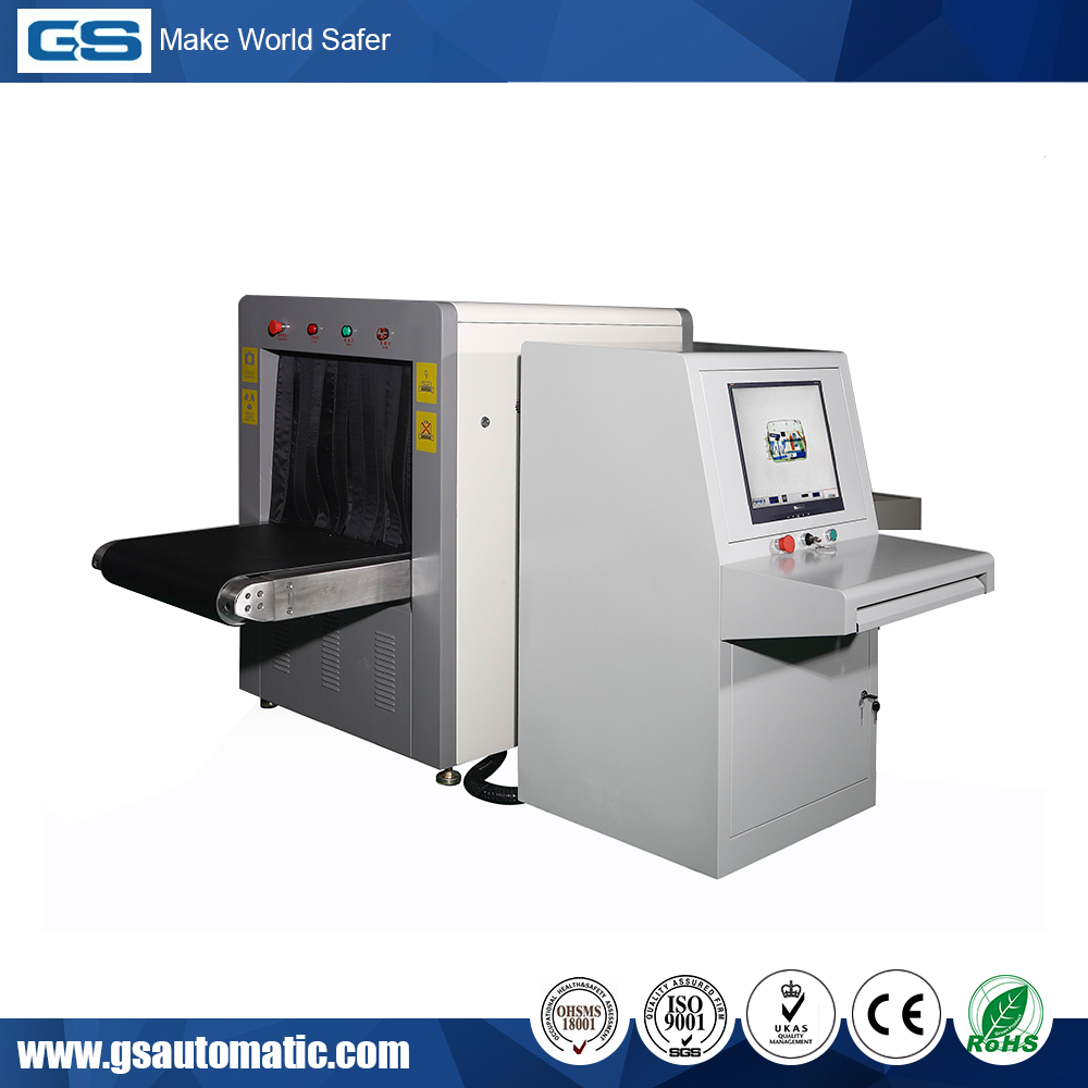 High Performance ISO9001 Certificated X-ray Security Screening System Machines