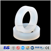 Standard and non-standard silicone bathtub rubber seal