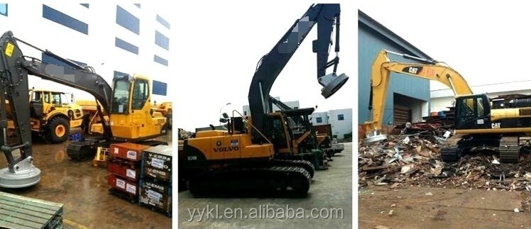 MW5 Steel scraps lifting electromagnet for excavator