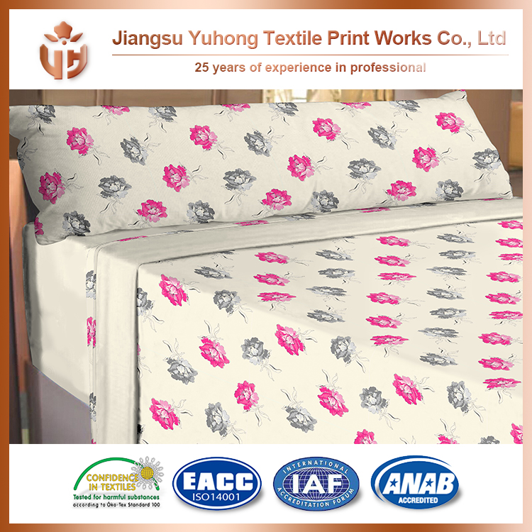 China Market Best Sell New Design Soft Touch Bed Sheets And Comforters Sets On Sale With Excellent Color Fasteness