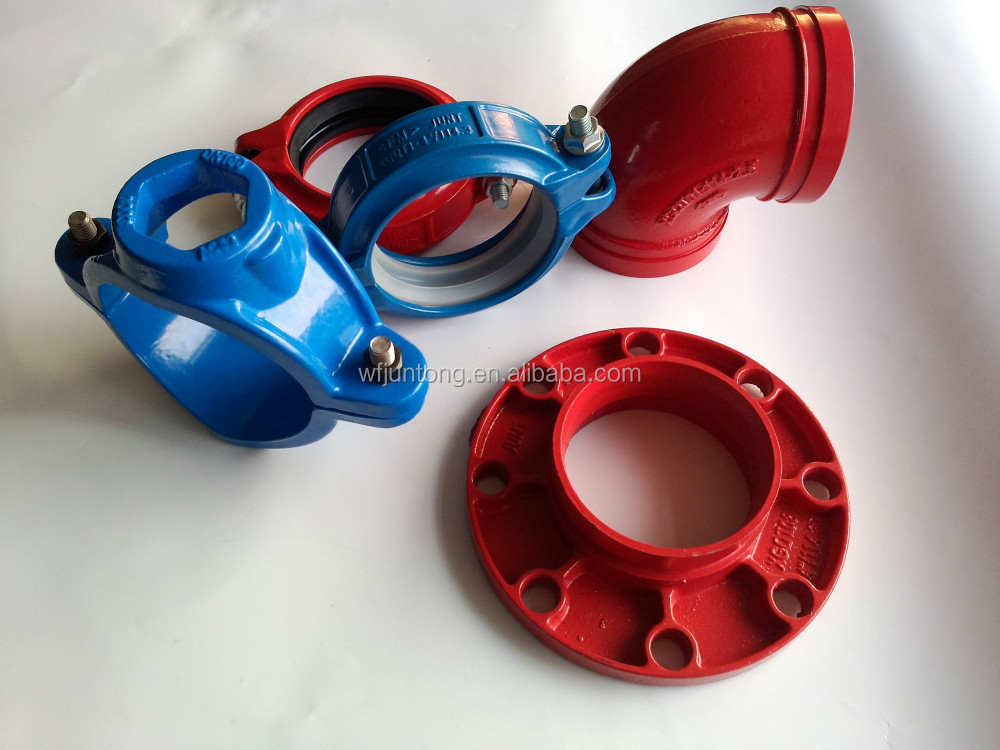 FM/UL approval grooved pipe fitting and coupling joint