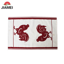 soft textile printing kitchen towel fabric digital printing dish towel fabric custom fabric for tea towel printing