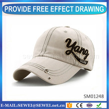 Factory Directly heavy brushed cotton baseball cap with best quality and low price