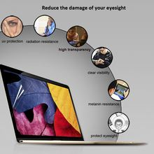 Clear Screen Protective Film Anti-scratch Ultra Thin Notebook Laptop HD Clear Screen Protective Film for MacBook Air 11.6""