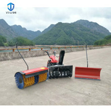 Hot sale snow sweeper snow throwing cleaning machine for sale with discount