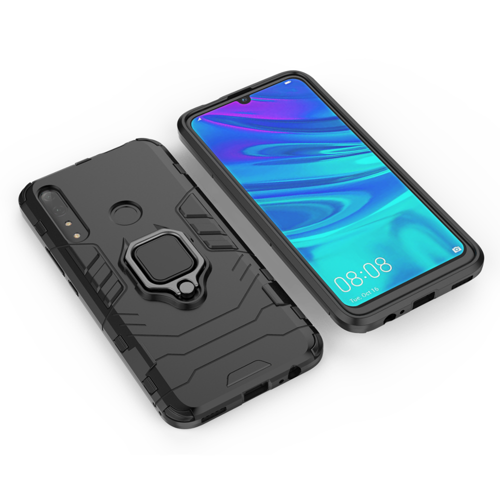 Hybrid Armor <strong>Case</strong> for Huawei Y9 prime 2019 Mobile Phone <strong>Case</strong> 2 in 1 Shockproof Back Cover for Huawei P Smart <strong>Z</strong>