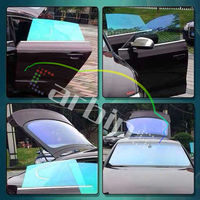 Purple to blue chameleon car window tinting film car solar control film for window