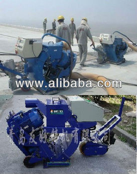 portable shot blasting machine for road surface
