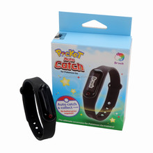 Black Brook Pocket Auto Catch For Pokemon Go Plus Collect Mode Bracelet WristBand For IOS 10 For Android