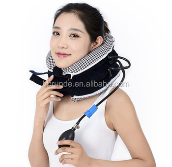 2017 New design Inflatable neck collar orthopedic cervical traction