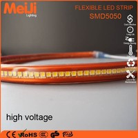 Good price super brightness high voltage 5050 led strip grow lights