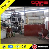 Waste Tire/Rubber/Plastic Pyrolysis Oil Refining System/Plant/Machine