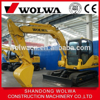 Chinese construction machinery mini crawler excavator DLS100-9B with cheap price for sale