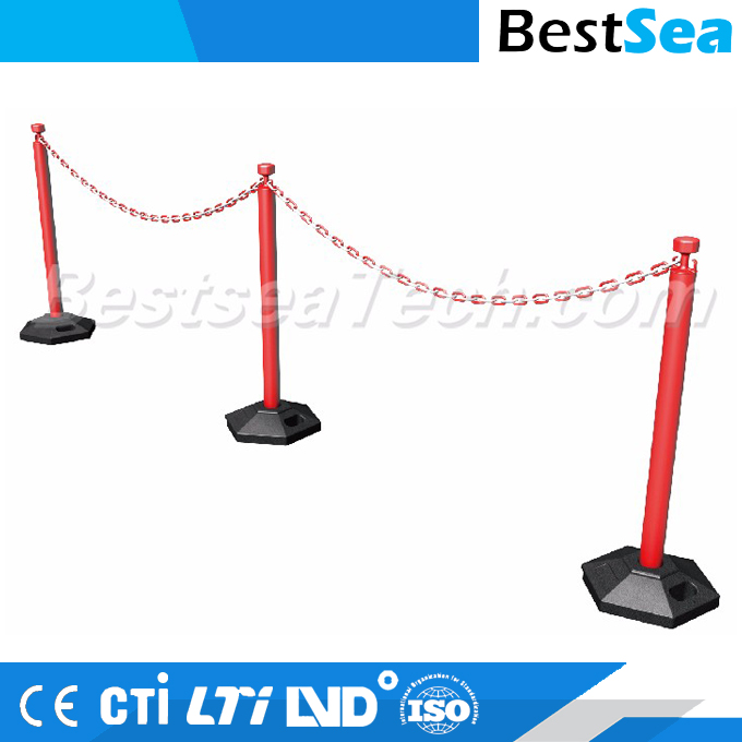 Plastic Stanchion with Light Blowing Base
