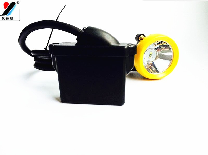 Miners Cap Lamp (KL5LM), Li-ion battery LED Miner's Cap Lamp
