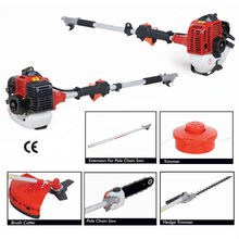 43cc 2-Stroke Side Attached Gasoline Brush Cutter with 1E40F-5 Engine (BC430S) ryobi long reach hedge trimmer