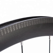 700C Clincher 3k Twill UD Matte Road Bike Carbon Bicycle Rim