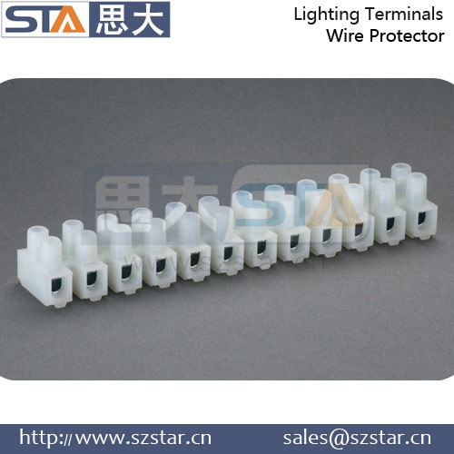 Screw Type and Terminal Block Number of Contacts PA66 Terminal Block