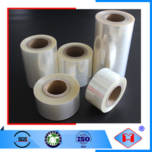 Transparent plastic PVC sleeve/tubular heat shrinking film for packing