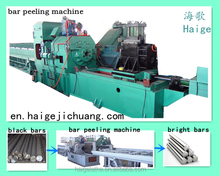 over-length round bar peeling and cutting machine