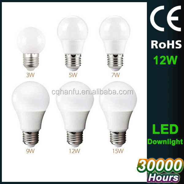 220v led lights for home,CE ROHS led replacement bulbs,AC85-265V led lamp