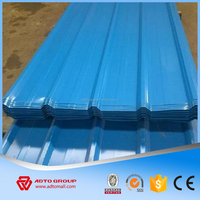 Price Of Color Corrugated PVC Roof Sheet, Aluminum Zinc Roof Shingle Material