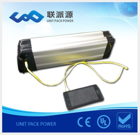 5v usb charging port 36v 12Ah lithium electric bike battery