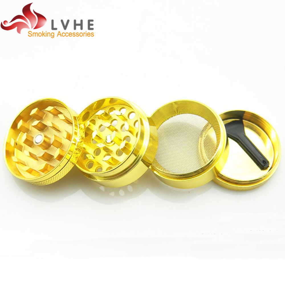 128GM LVHE Alibaba Best Sellers Mini 4 Part Aluminium Herb Grinder