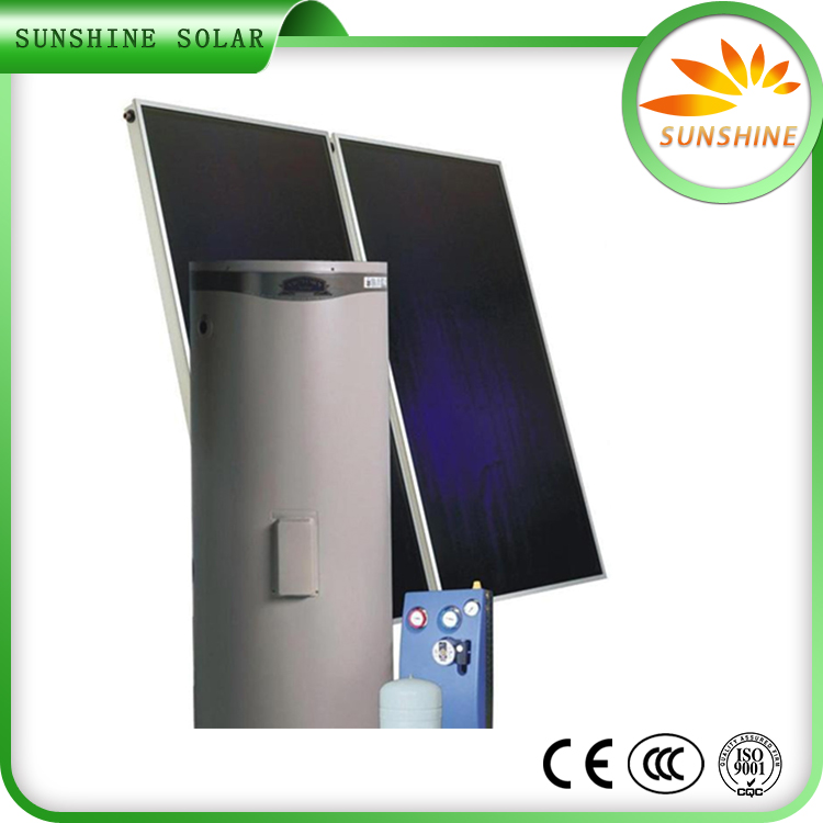 Non-Pressurized Common Glass Solar Mounting System Solar Water Heater Drawing