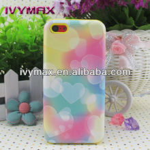 Wholesale designed two piece cell phone case for iphone 5c case