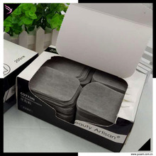 disposable cosmetics bamboo charcoal cotton pads manufacturers