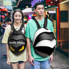 New style latest fashion expensive personalized young teenage monster eye shaped backpack school bags