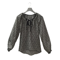 Ladies' Latest Design Fashion Printed Blouse