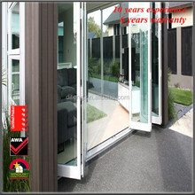 Aluminium Bi Folding Door With Double Glazing Glass -Aluminium Aluminium Doors