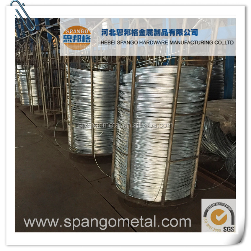 8 - 22 Gauge high quality galvanized wire for armoring cable