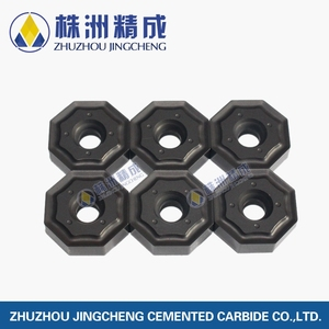 ONHU060408 ZCC CT black coated tungsten carbide cnc milling inserts