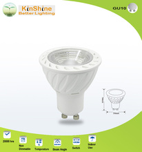 EMC LVD C-tick approved 7W 560lm AC230V led spotlight gu10