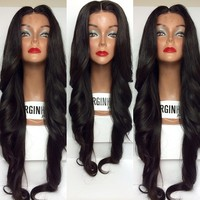 World best selling products hiperlon fiber lace front wigs 100% human hair