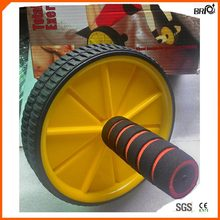 Safe Durable AB Wheel Roller for Abdominal Fitness Exercise and Fat Burning Bodybuilding